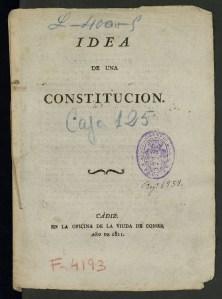 Idea de Constitucion